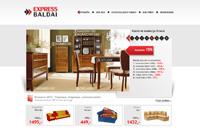 Express baldai - Valgomojo, miegamojo, svetainės baldai