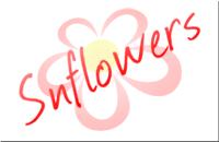 """Snflowers"" logo"